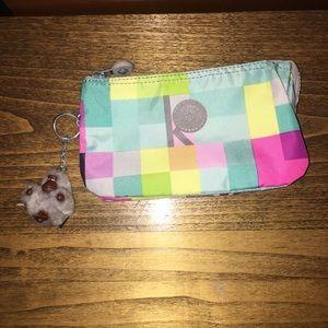 Multicolor Kipling pouch